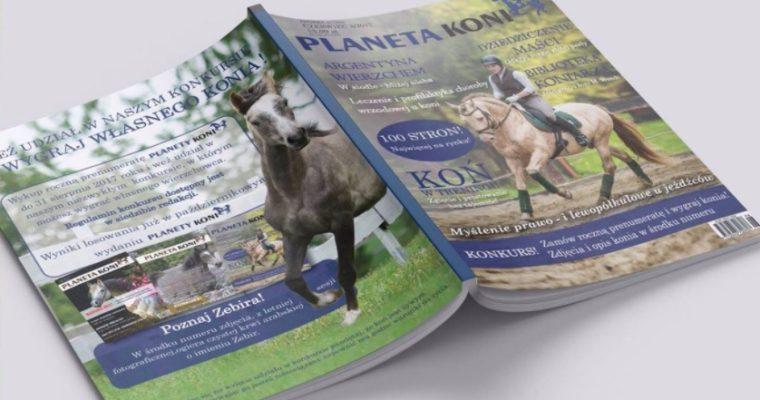 W najnowszym numerze Planeta Koni coś od nas!😀