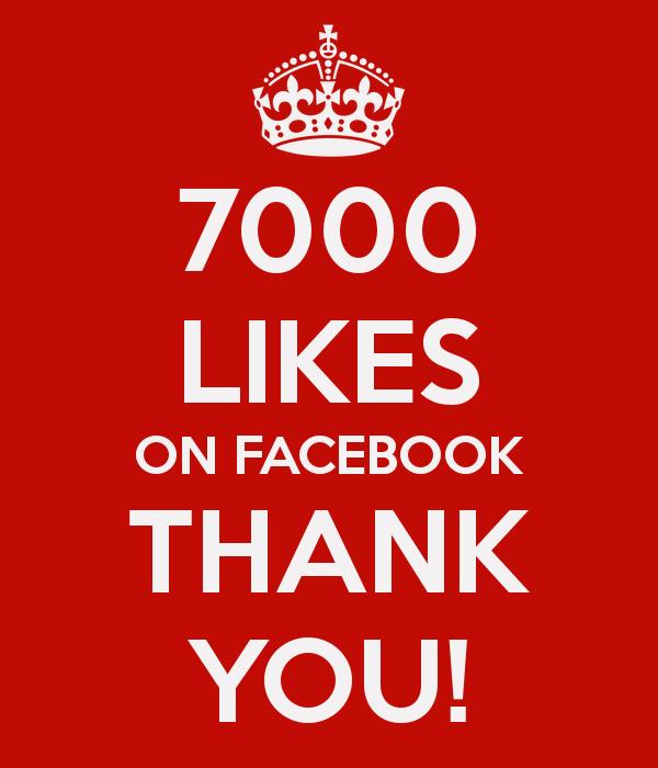 Jest nas już ponad 7000 na FB!